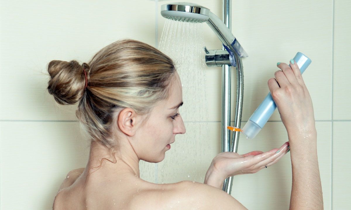 Soft water is good for skin